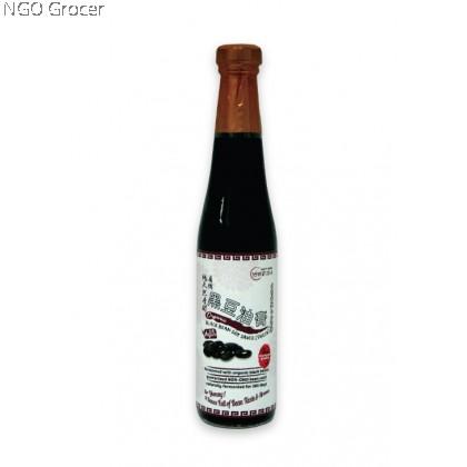 Earth Organic Black Bean Soy Sauce Thick (420ml/btl)