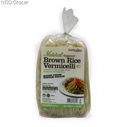 Earth Organic Natural Fragrant Brown Rice Vermicelli (400g/bag)