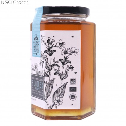 Earth Organic Wild Flower Honey (800g/btl)