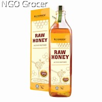 Biogreen Raw Honey With Active Enzymes (1kg/btl)