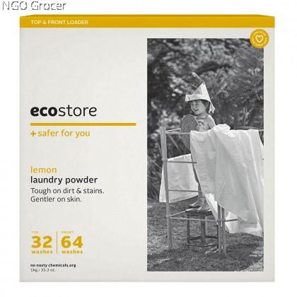 EcoStore Laundry Powder Original-Lemon (500g/box)