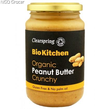 Clearspring Organic Peanut Butter Crunchy (350g/btl)
