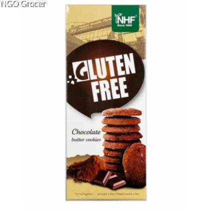 NHF Gluten Free Chocolate Butter Cookies (180g/pack)