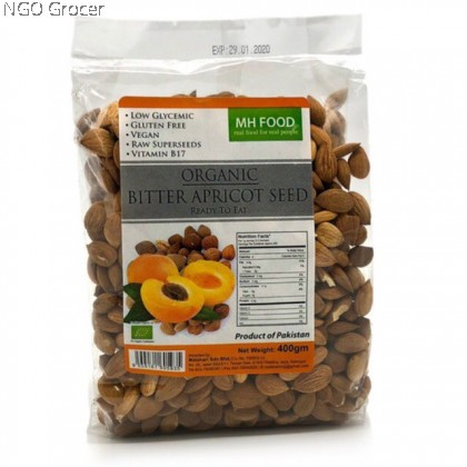 MH Organic Bitter Apricot Seed (400g/pack)