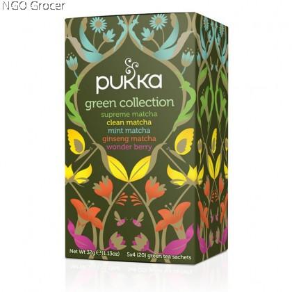Pukka Tea Green Collection (20sachets/box)