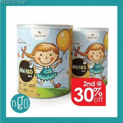 Dale & Cecil Miwako Milk (700g/tin) x2 tins (2nd @30%)