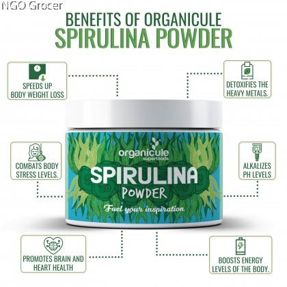 Organicule Spirulina Powder (200g)