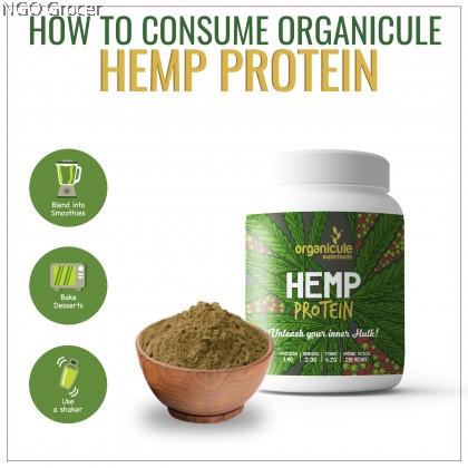 Organicule Hemp Protein Powder (1kg)