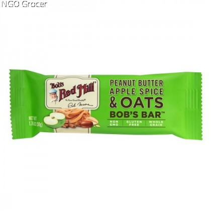 Bob Red Mill Peanut Butter Apple Spice & Oats Bob's Bar