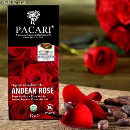 Pacari Andean Rose Organic Chocolate