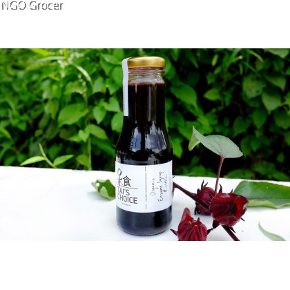 Tai's Kitchen Homemade Enzyme Syrup Roselle (240ml/btl)