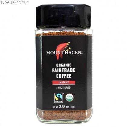 Mount Hagen Organic Instant Coffee (100gm )