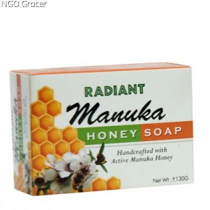 Radiant Manuka Honey Soap (130g)
