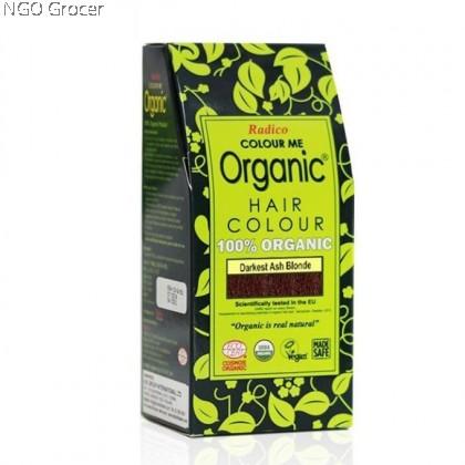 Radico Org. Hair Colour Powder - Darkest Ash Blonde (100g/box)