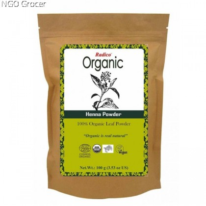Radico Organic Henna Powder (100g/box)