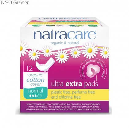 Natracare Ultra Extra Normal Pads (12pcs/pack)