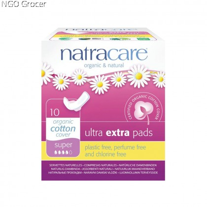 Natracare Ultra Extra Super Pads (10pcs/pack)
