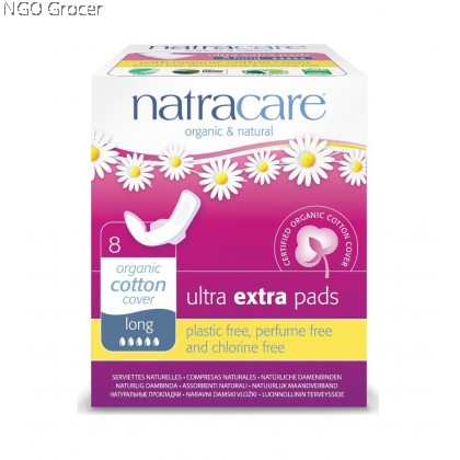 Natracare Ultra Extra Long Pads (8pcs/pack)