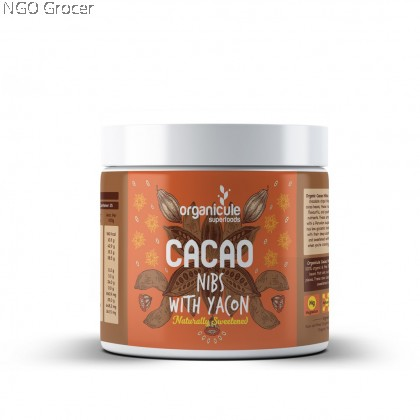 Organicule Cacao Nibs with Yacon (250g)
