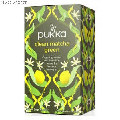 Pukka Tea Clean Matcha Green (20sachets/box)