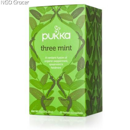 Pukka Tea Three Mint (20sachets/box)