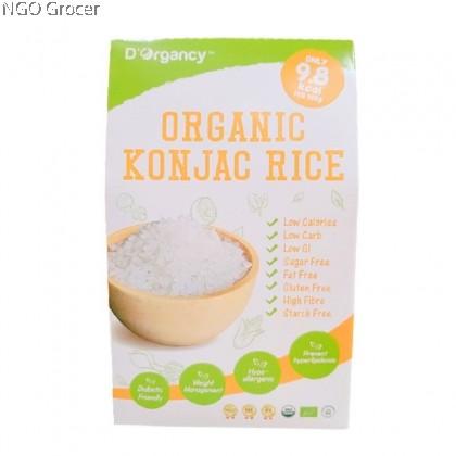 D'Organcy Organic Konjac Rice 385g