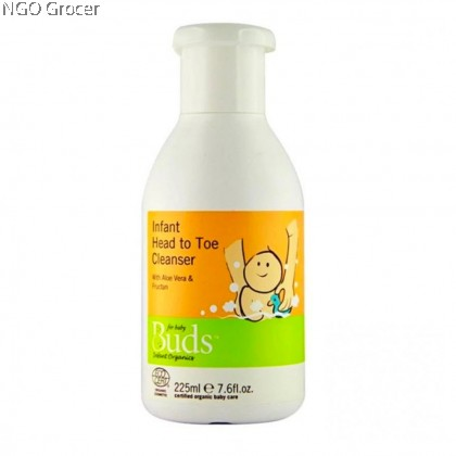 Bud's Baby Infant Head to Toe Cleanser 225ml