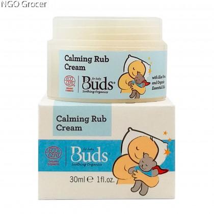 Bud's Baby Calming Rub Cream 30ml