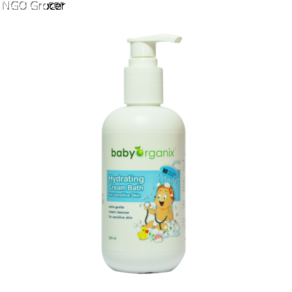 Baby Organix Hydrating Cream Bath (250ml/btl)