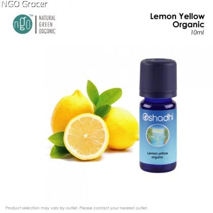 Oshadhi Lemon Yellow Organic (10ml/btl)