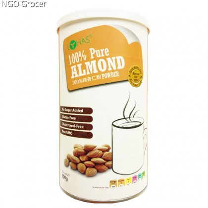 Lohas 100% Almond Powder Gluten Free (500g/tin)