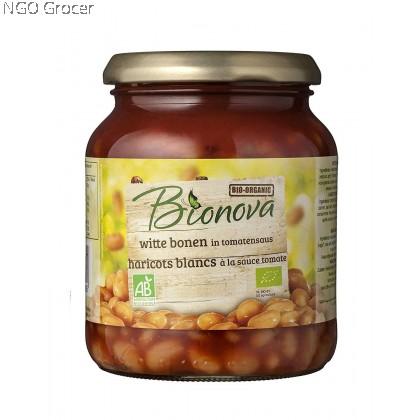 Bionova Organic Baked Beans in Tomato Sauce (340g/btl)