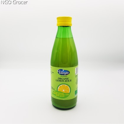 Polenghi Organic Lemon Juice (250ml/btl)
