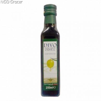 Divo Extra Virgin Olive Oil Non GMO (250ml)