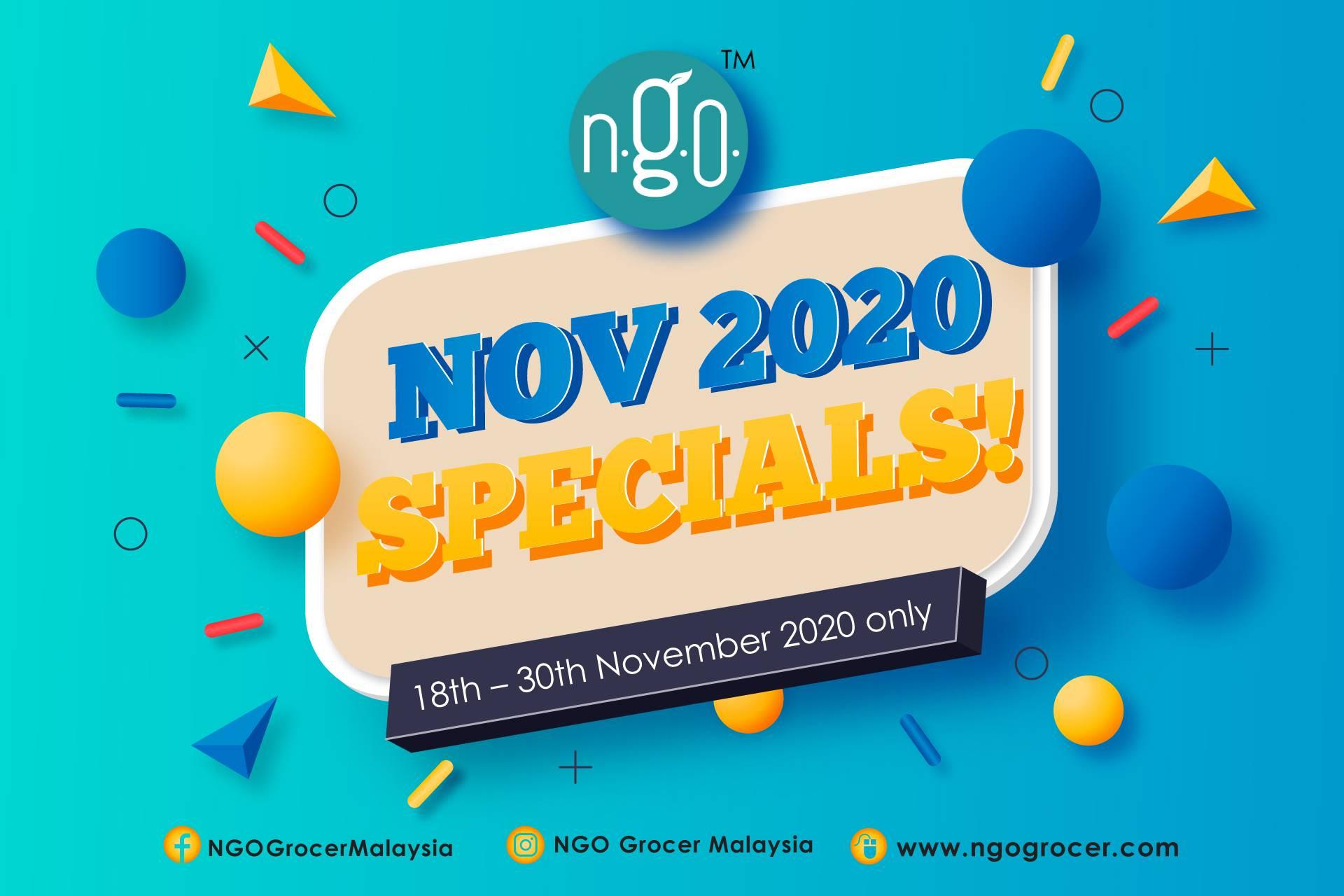 Nov 2020 Specials